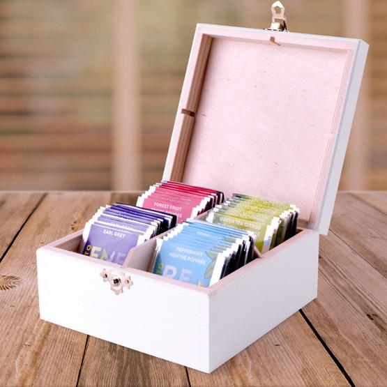 Pudełko z herbatą Lipton - Bratki dla babci i dziadka