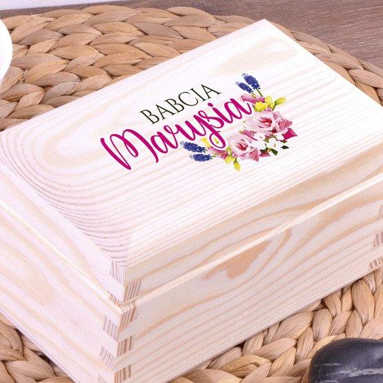 Pudełko z herbatą Lipton - dla babci