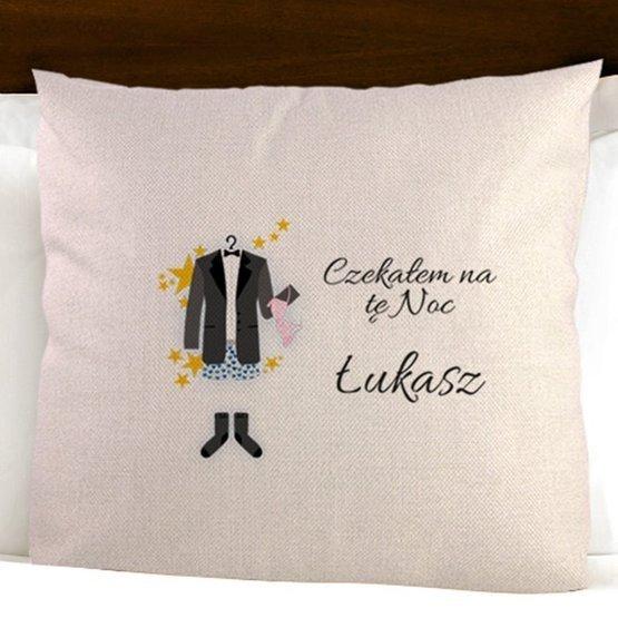 Dwie poduszki dla nowożeńców - ten dzień / ta noc