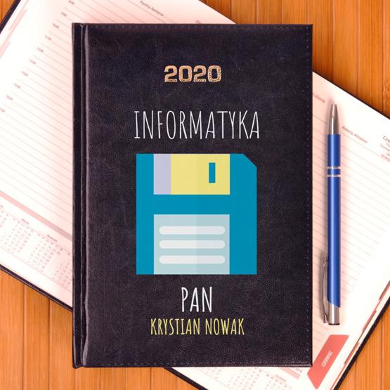 Kalendarz z nadrukiem- informatyka