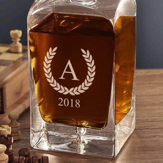 Karafka do whisky- Monogram