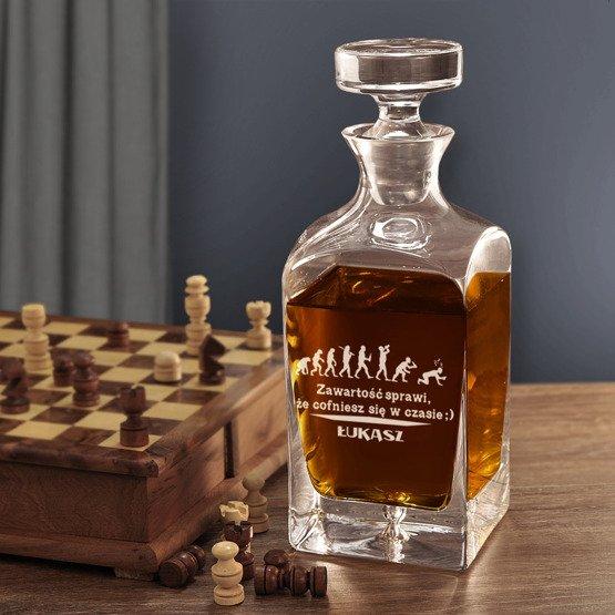 Karafka do whisky- Wehikuł czasu