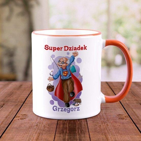 """Kubek """"Super Dziadek"""""""