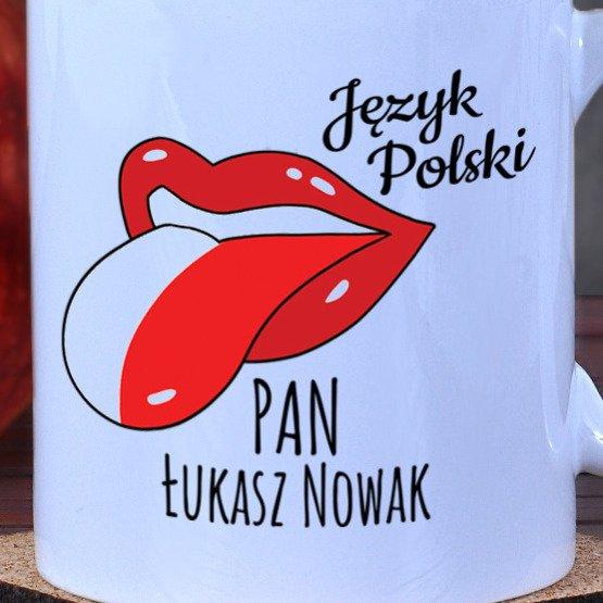 Kubek dla nauczyciela języka polskiego