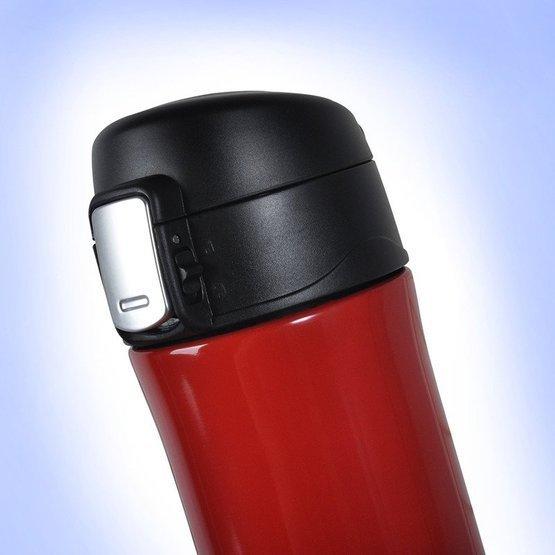 Kubek termiczny 450ml czerwony - ... zawsze gorący