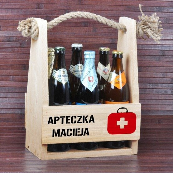 Nosidełko dla piwosza - Apteczka