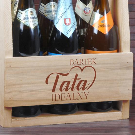 Nosidełko do piwa dla taty - Tata idealny
