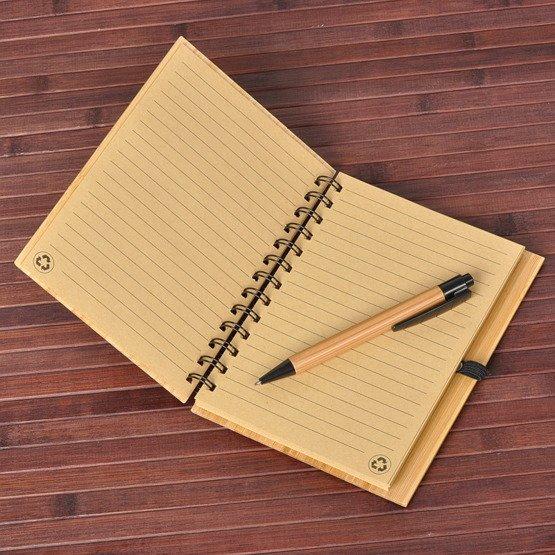 Notes bambusowy dla nauczyciela języka polskiego