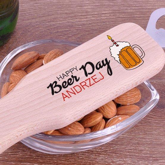 Otwieracz do butelek - Happy Beer Day