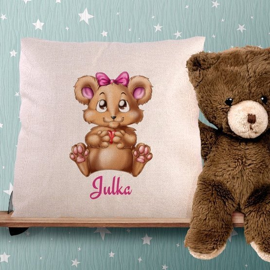 Poduszka dla dziecka - wiewiórka