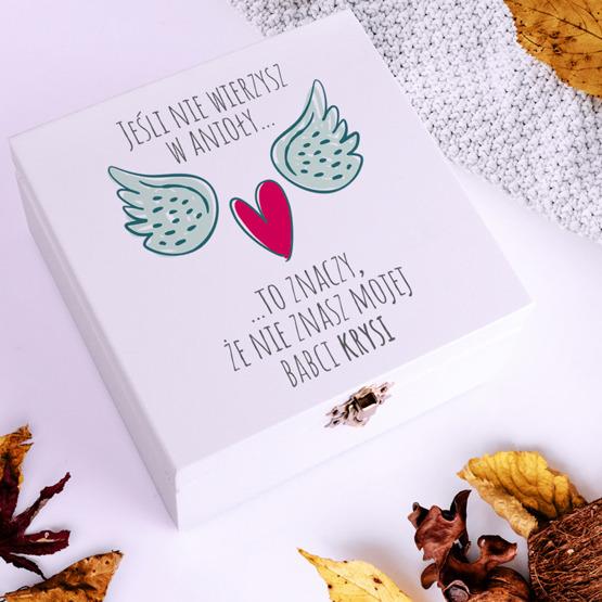 Pudełko z herbatą Lipton - Babcia Anioł