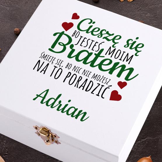 Pudełko z herbatą Lipton - dla brata