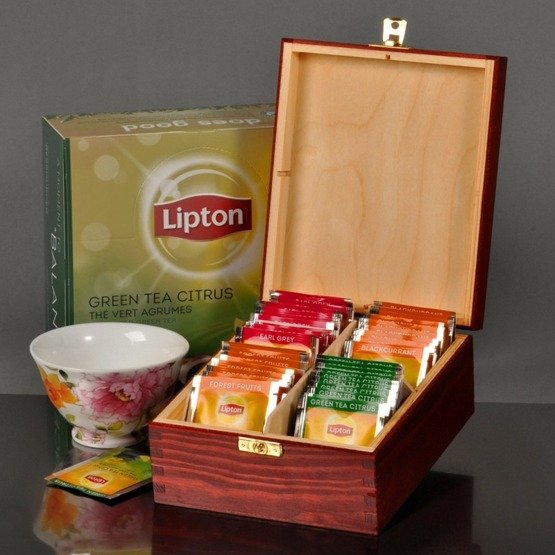 "Pudełko z herbatą- ""Super Mama"""