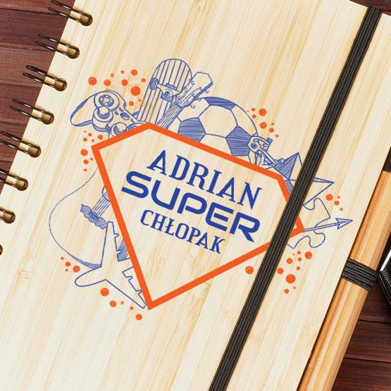Super notes dla Super Chłopaka