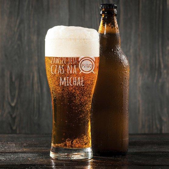 Szklanka do piwa - Czas na piwo