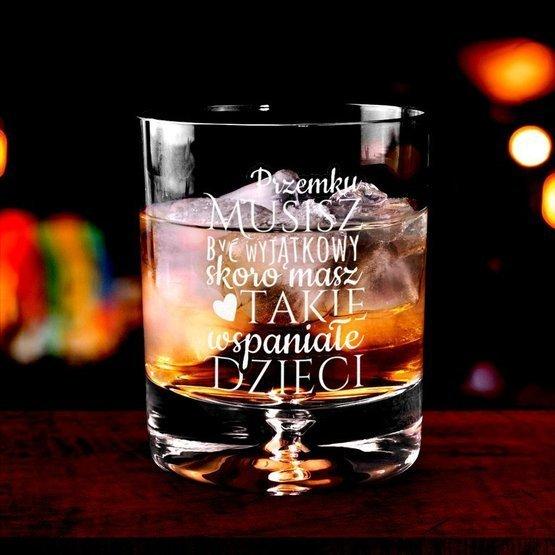 Szklanka do whisky - wyjątkowy Tata - prezent dla ojca