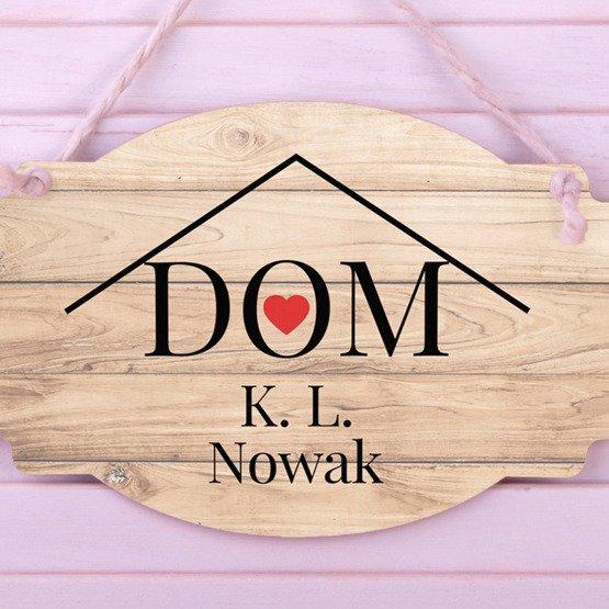 Tabliczka z nadrukiem-  DOM