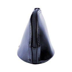 Zestaw prezentowy damski WITTCHEN VIII - granatowa kosmetyczka + beżowy szal