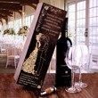 Pudełko na wino - prezent ślubny - para